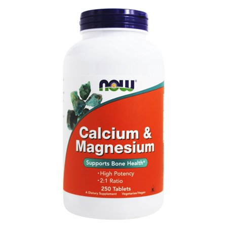 Now Foods   Calcium And Magnesium High Potency   250 Tablets