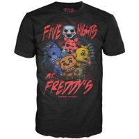 Five Nights at Men's Funko Pop FNAF Group Tee