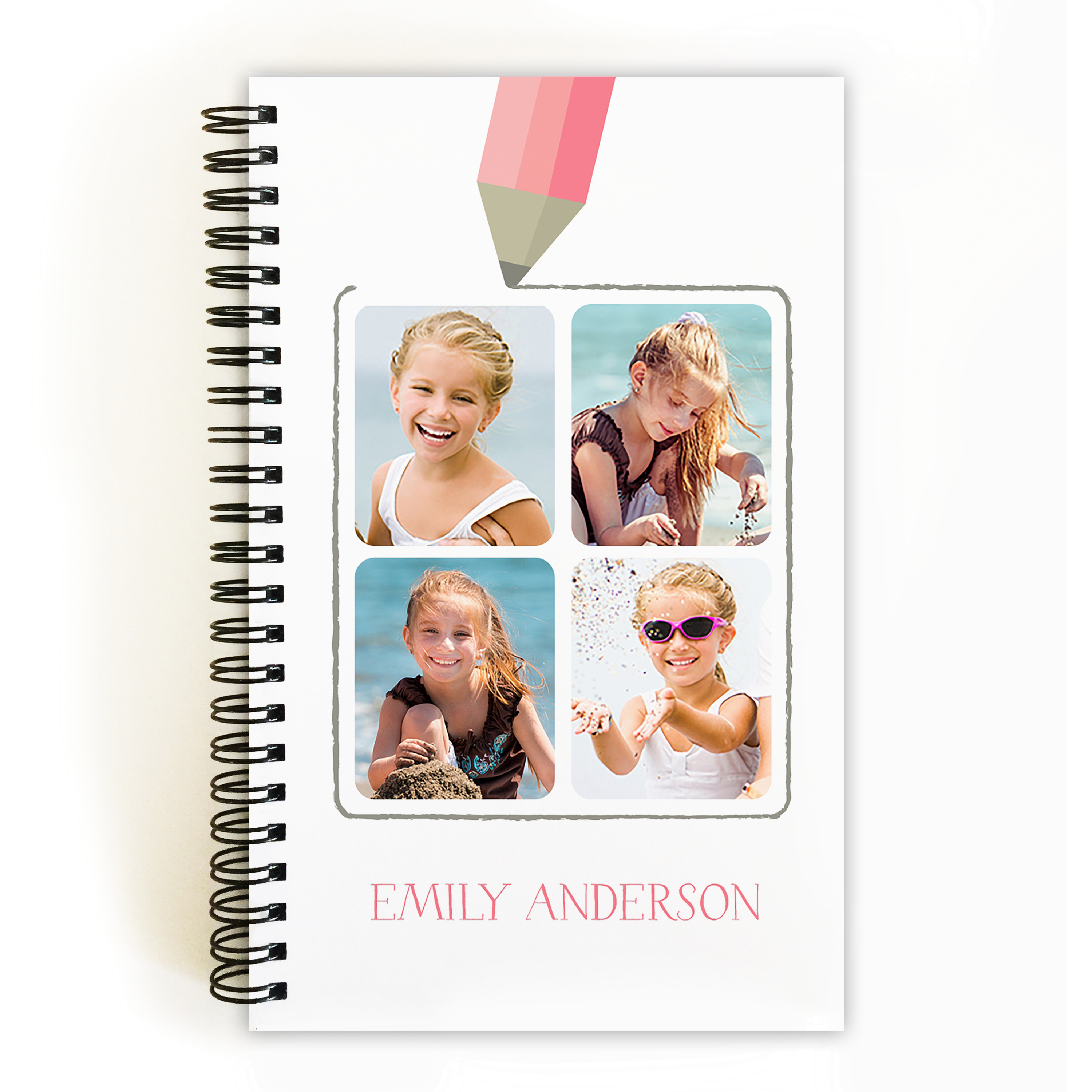 Back to School - Personalized 5 x 8 Notebook