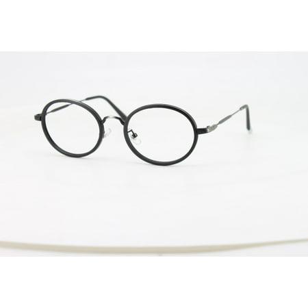 Ebe Reading Glasses Mens Womens Matte Black Full Frame Oval Round Anti Glare grade (Reading Glasses For Round Face)