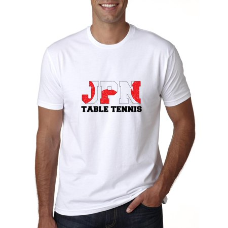 Japan Table Tennis - Olympic Games - Rio - Flag Men's T-Shirt
