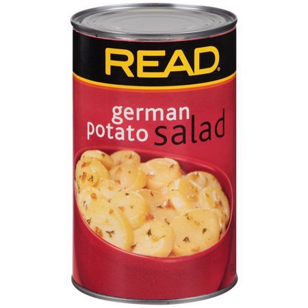 Potato German Salad Read. Label 6 Per Case, 52 Ounce