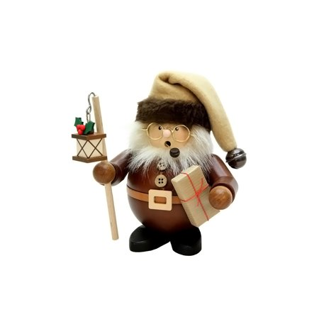 Christian Ulbricht Natural (Alexander Taron Christmas Decor Christian Ulbricht Incense Burner - Santa with Lantern (Natural) - 6