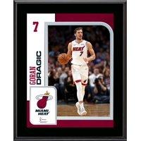 """Goran Dragic Miami Heat 10.5"""" x 13"""" Sublimated Player Plaque"""