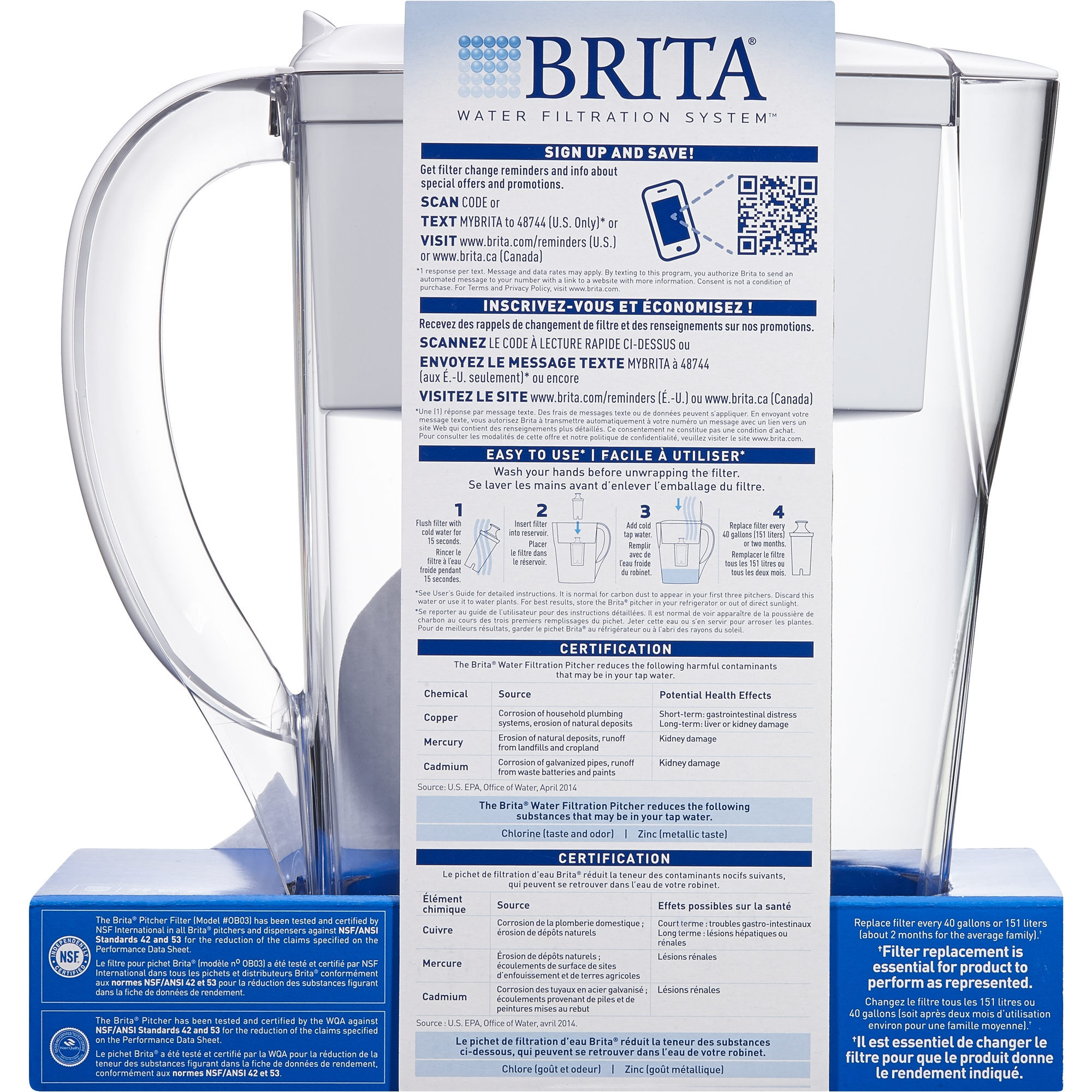 Brita small 6 cup space saver water pitcher with filter bpa free brita small 6 cup space saver water pitcher with filter bpa free red walmart 1betcityfo Choice Image