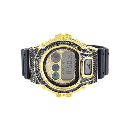 Black   Yellow G Shock Dw6900 Silicon Rubber Band G Shock Watch Sale