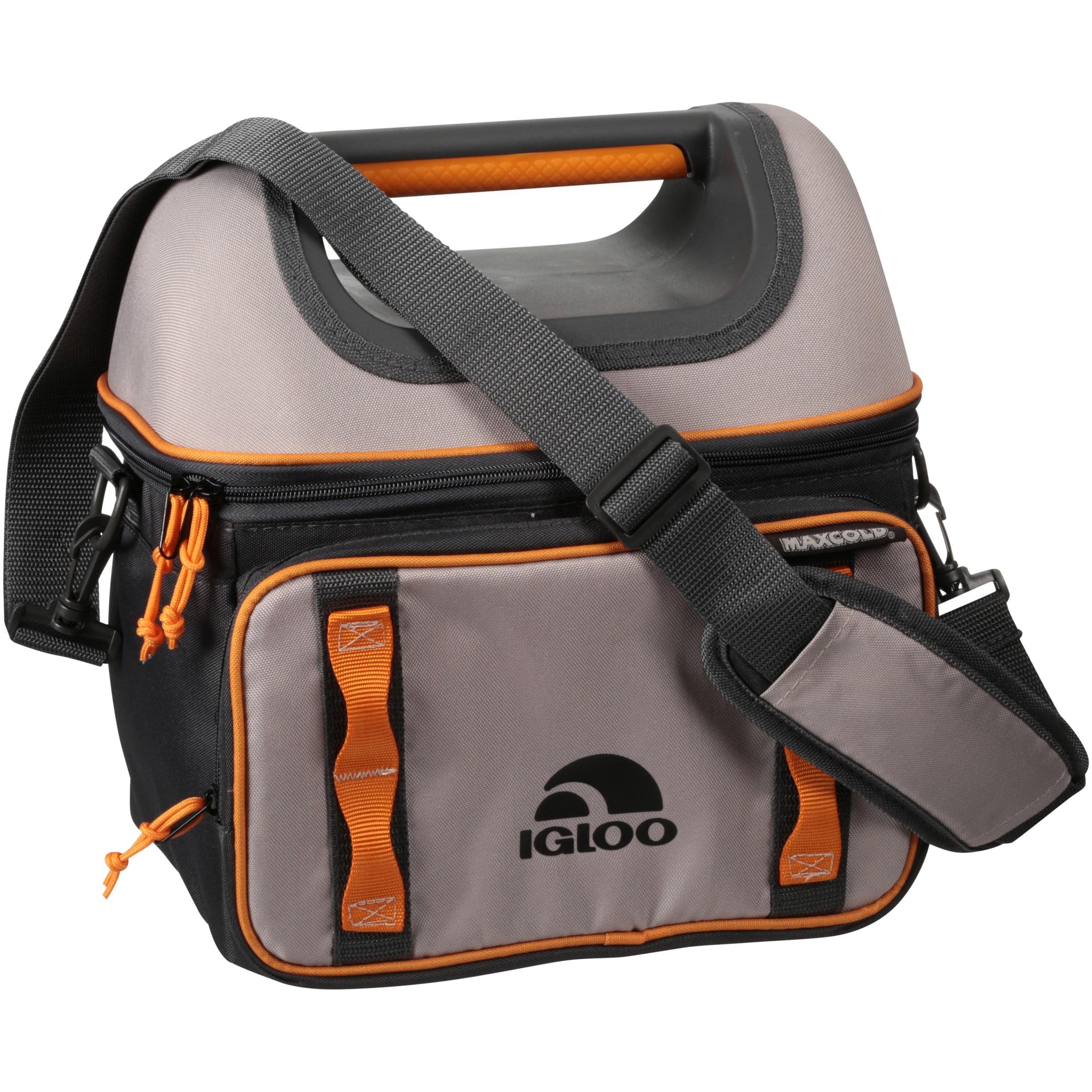 Igloo® Hard Top Playmate® Gripper™ 22 Tan/Orange Cooler Bag