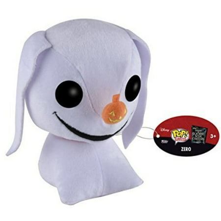 FUNKO POP! PLUSH REGULAR NIGHTMARE BEFORE CHRISTMAS - ZERO (Zero Nightmare Before Christmas)