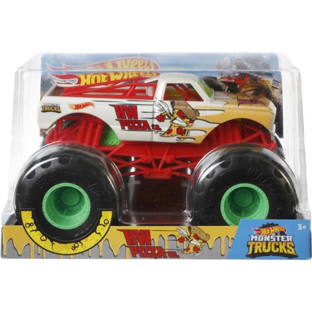 Hot Wheels Monster Trucks 1:24 Scale Hot Wheels Pizza Co.