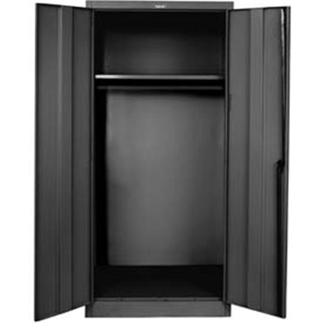 Hallowell 445W24ME 400 Series Stationary Solid Wardrobe Cabinet, 48W In. X  24D In.