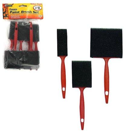 48 Pc Disposable Paint Foam Brushes 3