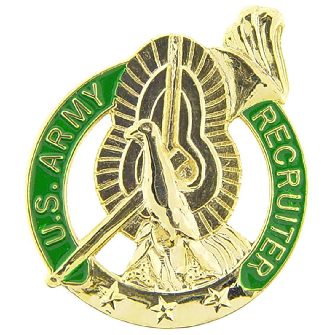 U.S. Army Recruiter Pin 1""