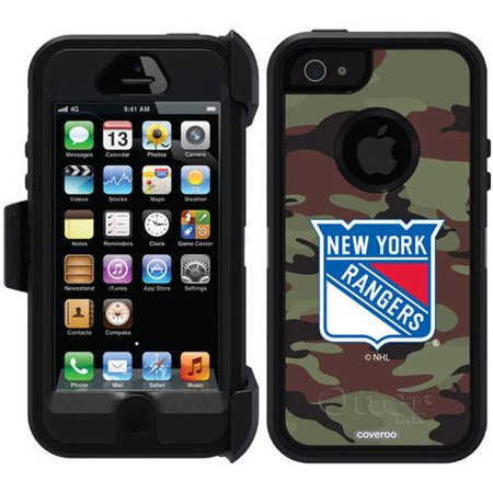 best website f1959 e668a New York Rangers Traditional Camo Design on OtterBox Defender Series Case  for Apple iPhone 5/5s