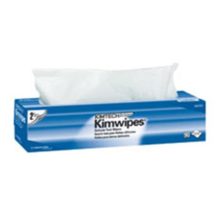WP000-34721 34721 Wipes Kim Kimtech Science 2 Ply Plyshld 16.6x14 White 90 Per Box From Kimberly Clark Professional -# 34721