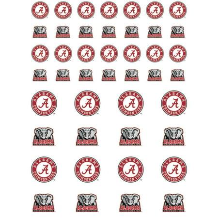 Alabama Crimson Tide Small Sticker Sheet - 2 Sheets