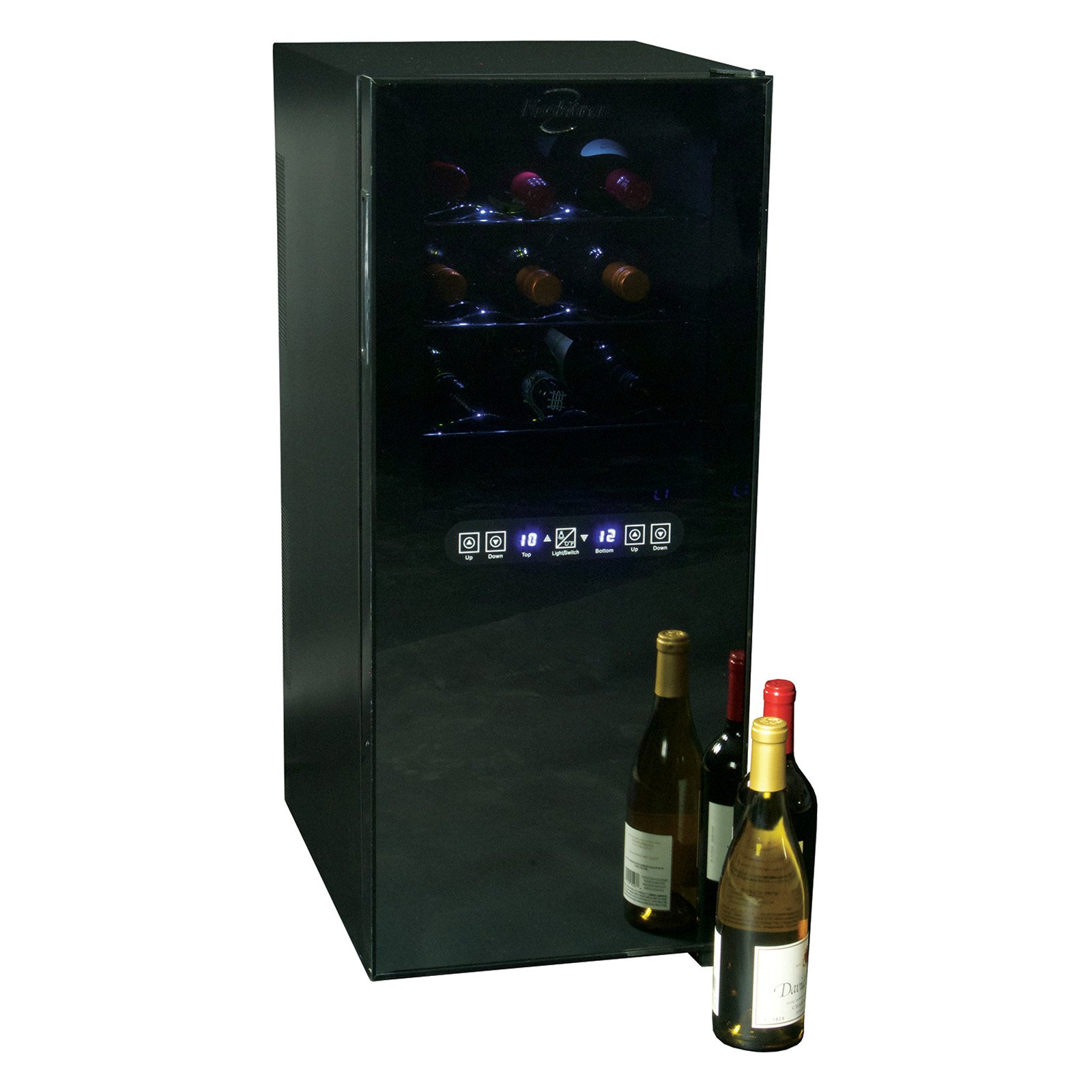 Koolatron WC24MG 24-Bottle Dual-Zone Wine Cooler