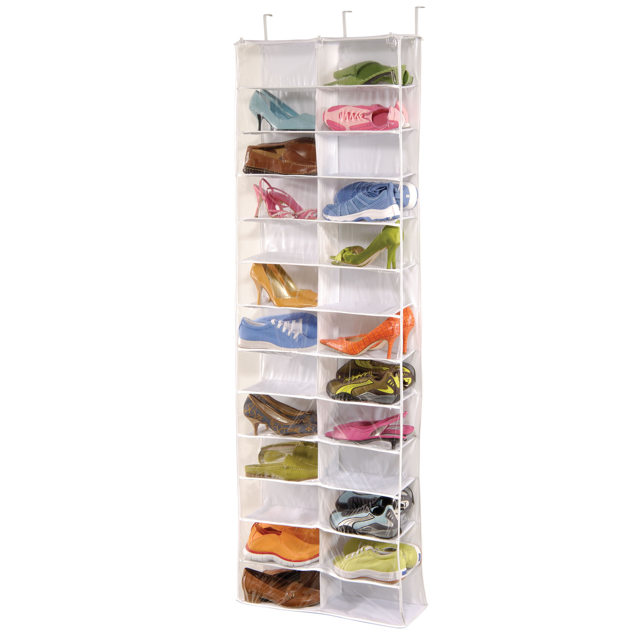 Clear Vinyl Pocket Shoe File with Hanger
