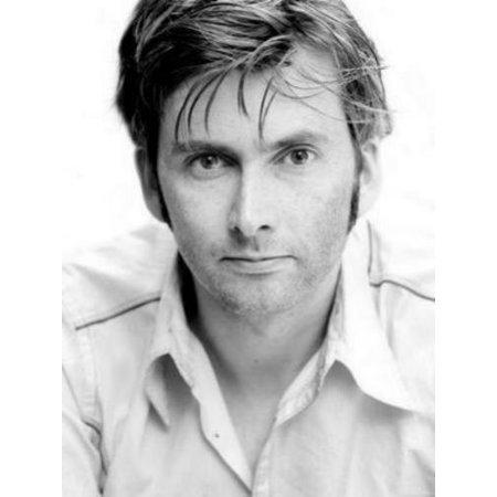 David Tennant Bw Portrait 11X17 Mini Poster