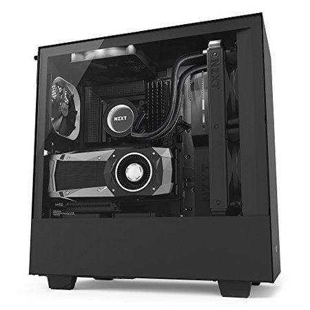 NZXT Case H500i Mid-Tower MatteBK (Nzxt Tempest 210 Atx Mid Tower Case)