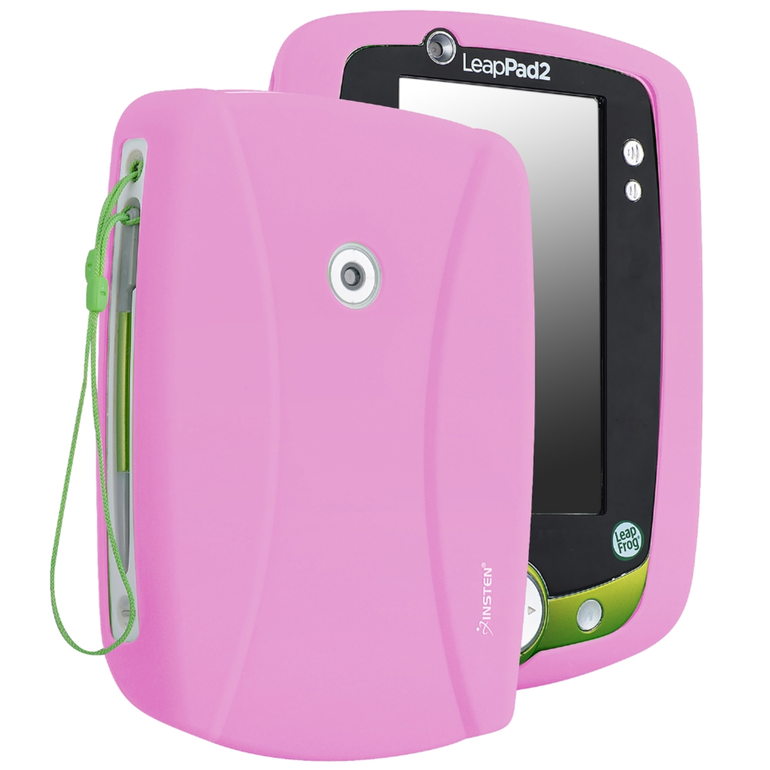 Insten Silicone Skin Case For Leapfrog LeapPad 2, Baby Pink