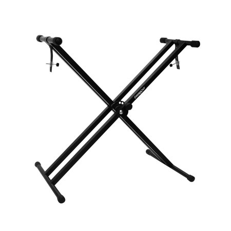 CC-KSTAND Double Braced X-Style Pro Series Keyboard Stand with Locking Straps, ship from USA,Brand ChromaCast