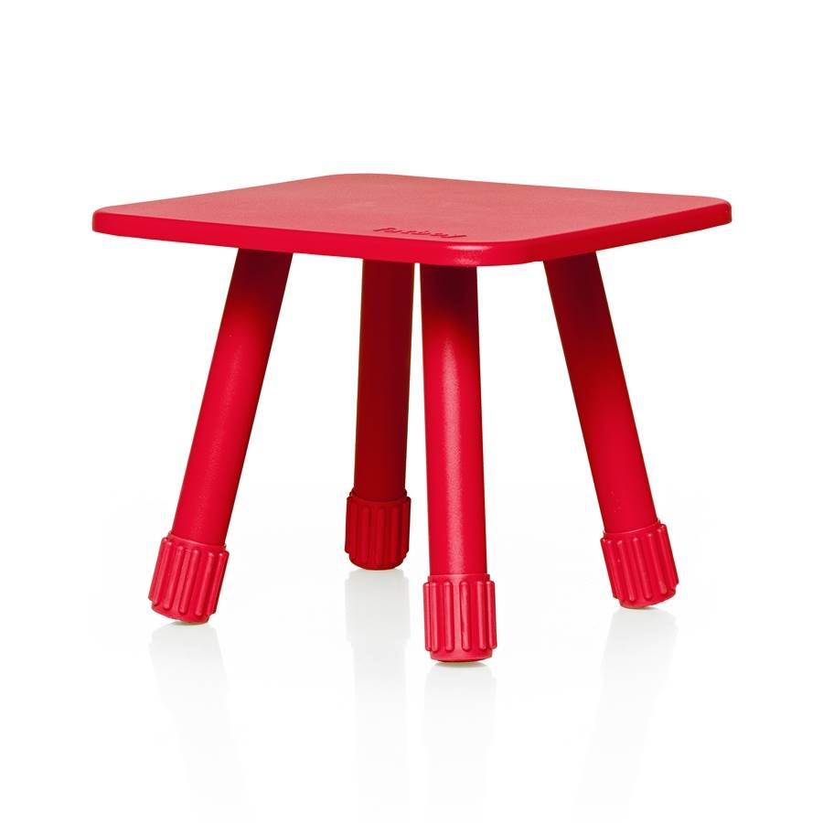 Tablitski Stool in Red