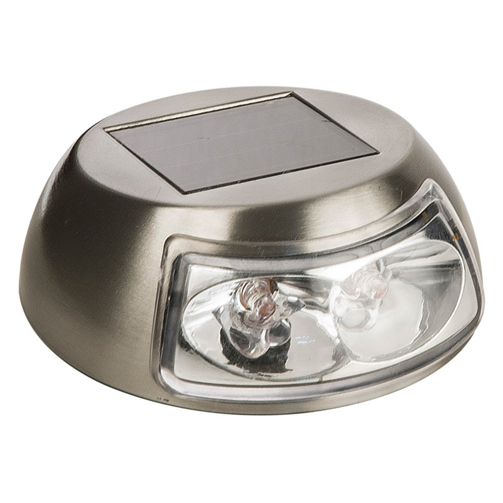 Paradise Garden Lighting Solar 2.4 Lumen Stainless Steel Deck Light