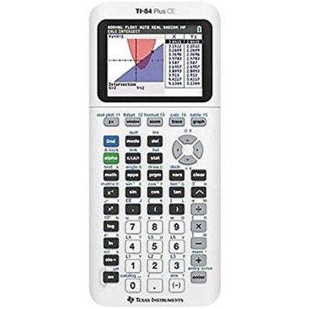 Texas Instruments TI-84 Plus CE Graphing Calculator,