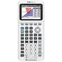 Texas Instruments TI-84 Plus CE Graphing Calculator, White