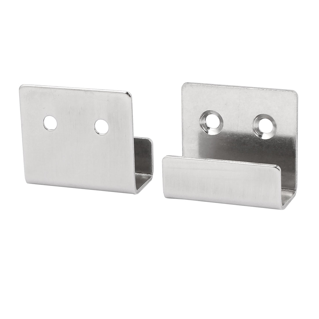 WANXIANG Brushed Stainless Steel Tile Display Hangers Wall Hanger Fastener for Ceramic Tile Display Pack of 8 Inner Width 15mm
