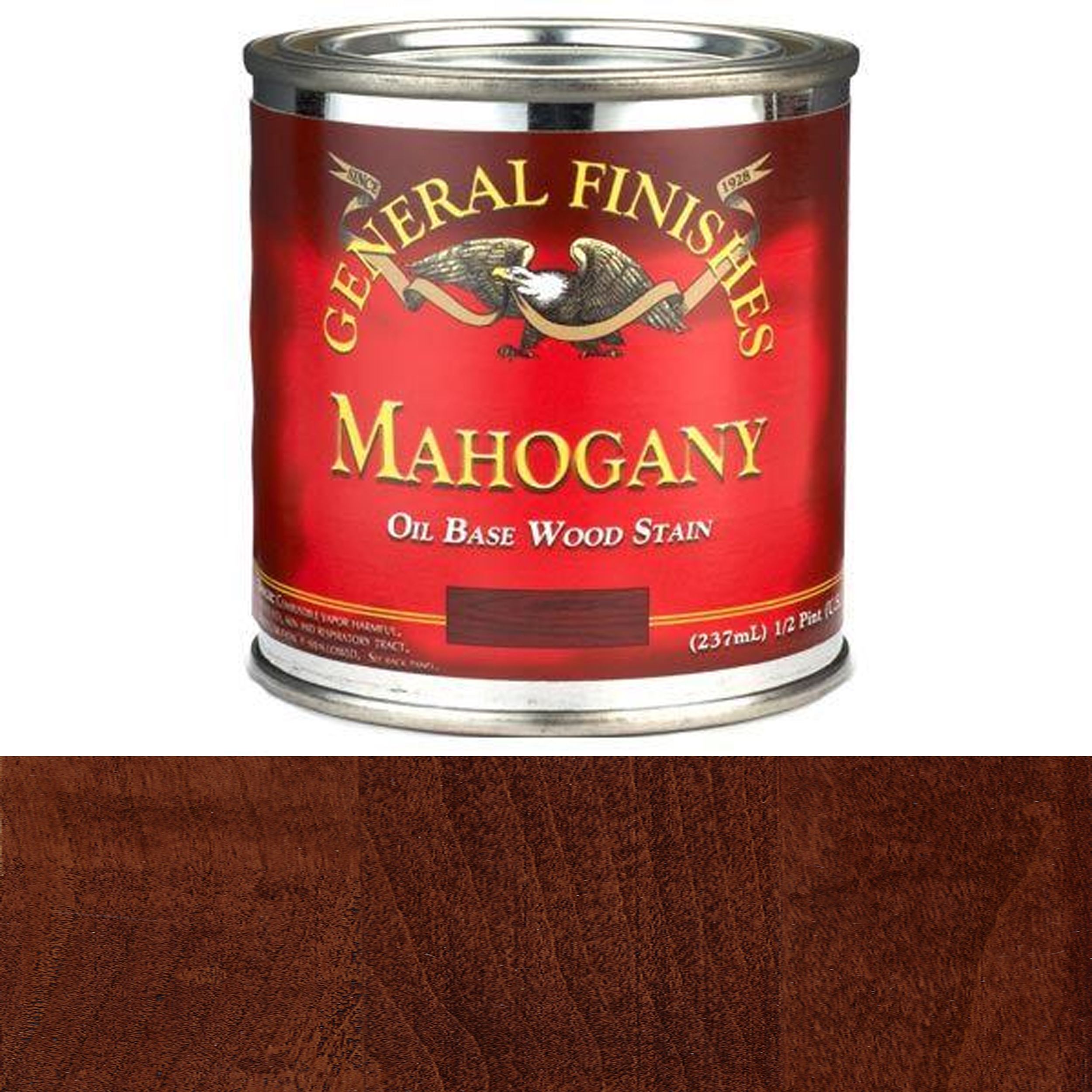 Mahogany Oil Stain, 1/2 Pint