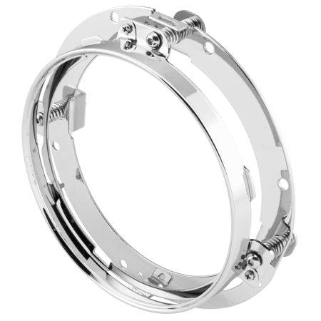 New Headlight Ring (Xkglow Adj Mnt Ring 7 In Headlight Xk034012-Ring New)