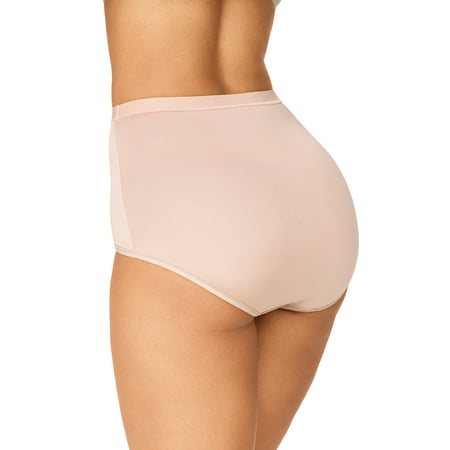 Blissful Benefits by Warner's Women's Tummy Smoothing Brief, 3-Pack