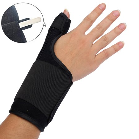 Wrist, Hand, and Thumb Stabilizer Immobilizer Support Wrap Brace - Thumb Spica Splint for Arthritis, Tendonitis and More. Fits Both Right Hand and Left Hand for Men and (Hand Immobilizer)