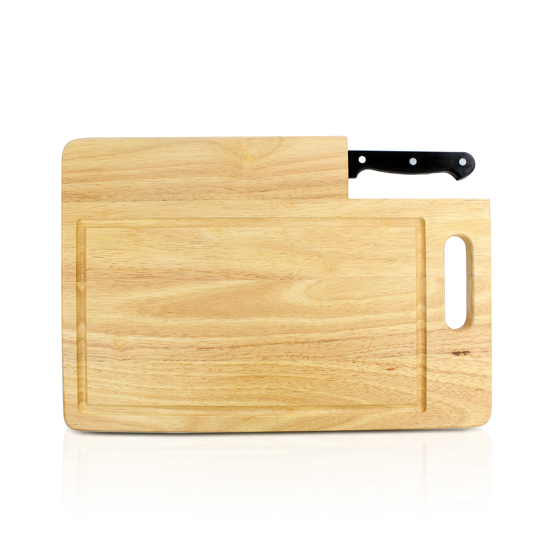 Ginsu Essential Series: Santoku Knife with Cutting Board, GES-KB-DS-002-3