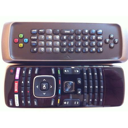 new 3d tv dual side keyboard qwerty remote control xrt301 xrt303----m-go/netflix/amazon/ 3d key