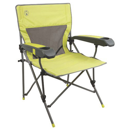 Coleman Vertex Hard Arm Better Chair, Lime