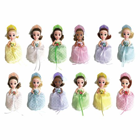 Princess Cupcake (Cupcake Surprise Scented Princess Doll - Series 3 Bridal Edition (Colors & Styles May Vary) )