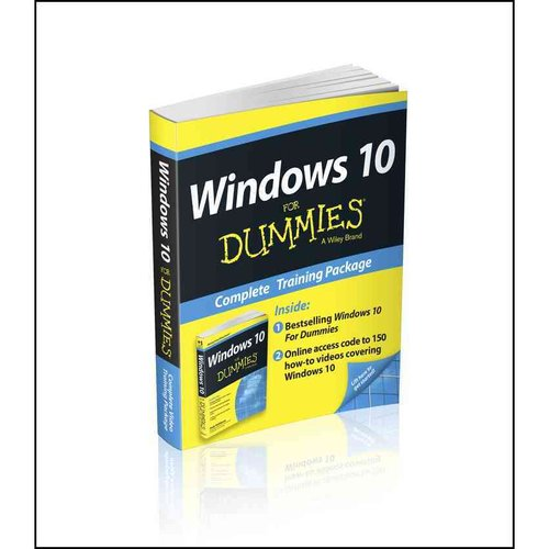 Windows 10 for Dummies Book