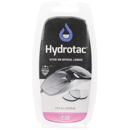 Optx 20/20 Hydrotac Stick-On Bifocal Reading Lens, +250, for those in need of a magnifying lens, these can be added to any pair of glasses By Optx 2020 ()