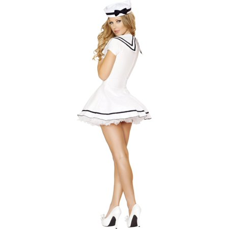 2pc Sexy Sailor Maiden - 4525-AS-XXL - White - image 1 of 2