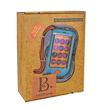 B. HiPhone. Touch Screen Toy Cell Phone with Realistic Smart Phone Features. Teaches Numbers, Records and Plays Back Messages, and Even Calls - Smart Toys And Books