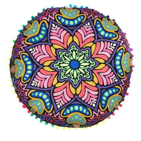- Mandala Bohemian Floor Pillows Cushion Cover