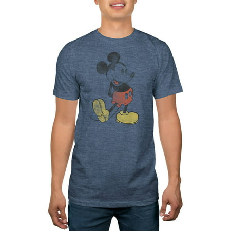 Disney Mens Mickey Mouse Graphic Tee