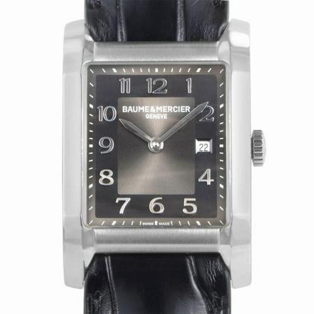 Pre-Owned Baume & Mercier Hampton MOA10019 Steel Women Watch (Certified Authentic & Warranty)