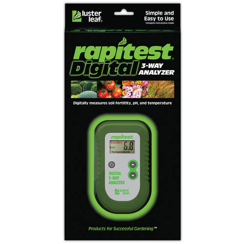 Luster Leaf Rapitest 3-Way Digital Analyzer