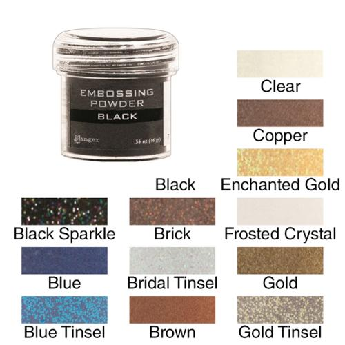 Embossing Powder 1oz Jar Frosted Crystal