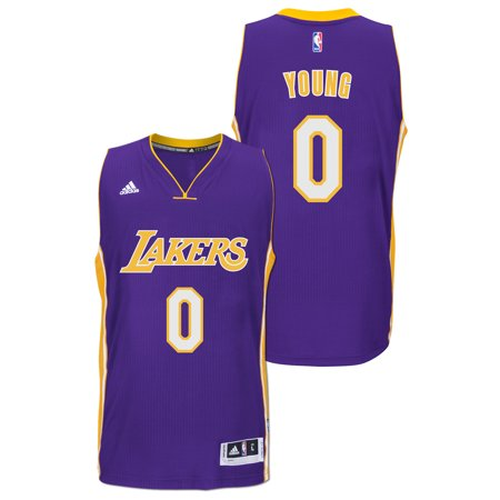 ... 0 Nick Young Yellow Stitched NBA Jersey Nick Young Los Angeles Lakers  Adidas Road Swingman Jersey (Purple) - Walmart.com ... c10b3cf71