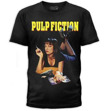 Pulp Fiction Mia T-Shirt - Pulp Fiction Mia Wallace Halloween