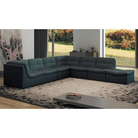 J&M Furniture Lego 7 Piece Sectional Sofa Set - Walmart.com